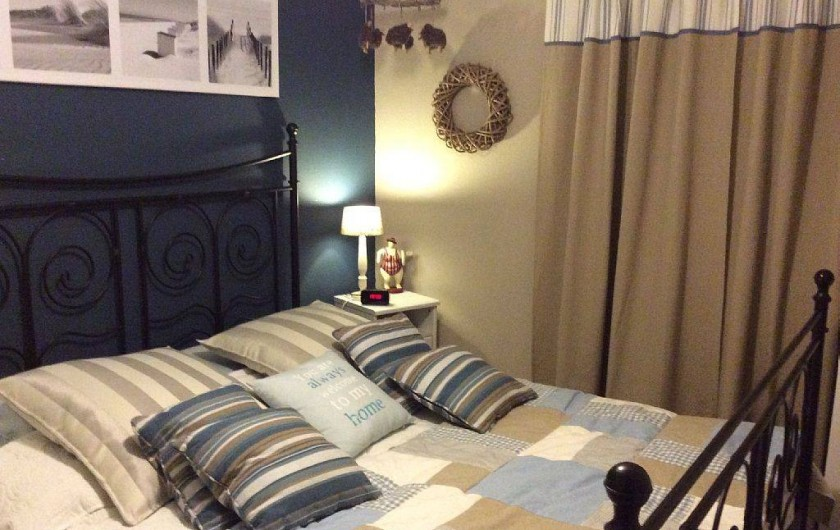 Location de vacances - Maison - Villa à Portiragnes - chambre avec lit de 160
