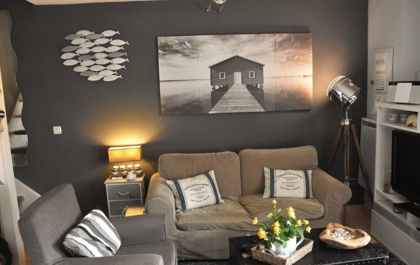 Location de vacances - Maison - Villa à Portiragnes - côté salon