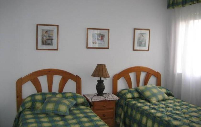 Location de vacances - Appartement à Torrox Costa - CHAMBRE 2 LITS