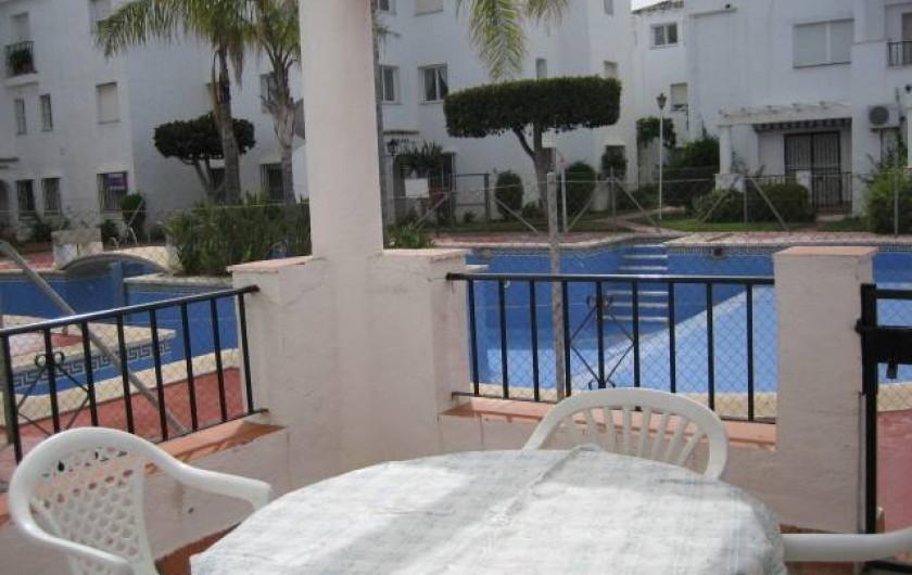 Location de vacances - Appartement à Torrox Costa - TERRASSE