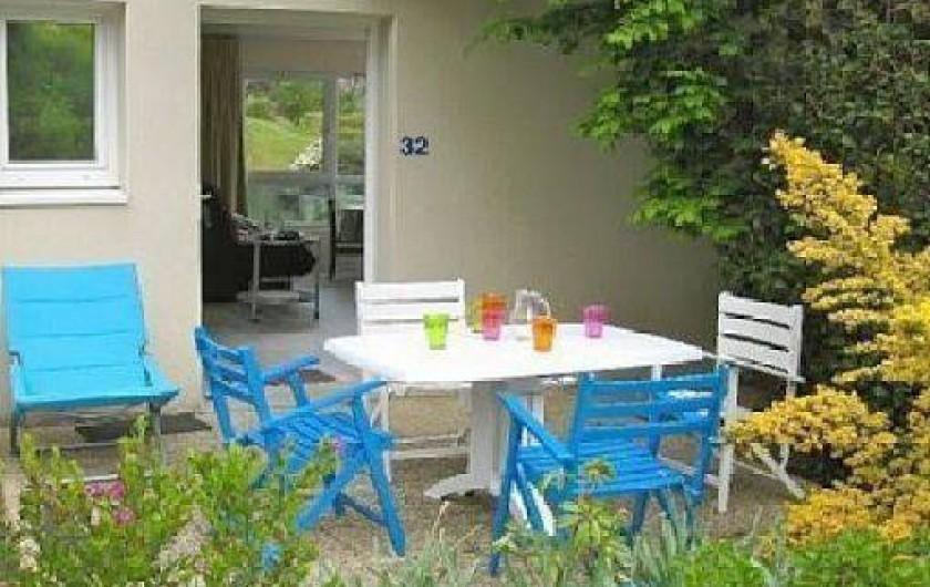 Location de vacances - Appartement à Trévou-Tréguignec - La terrasse au sud