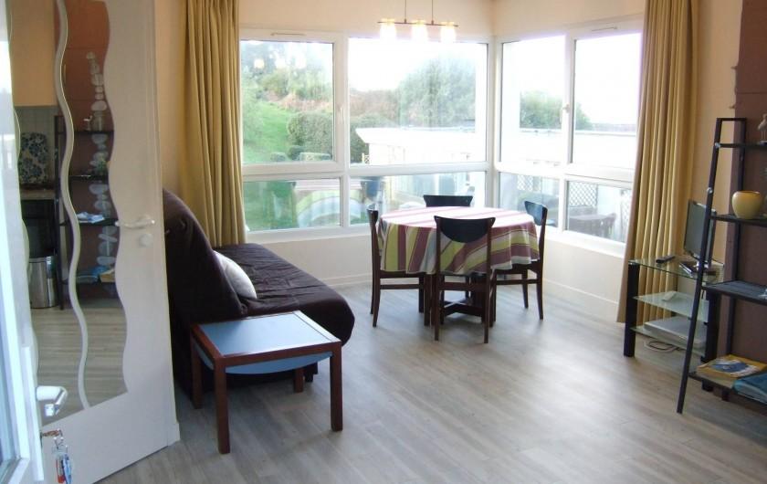 Location de vacances - Appartement à Trévou-Tréguignec - Le séjour