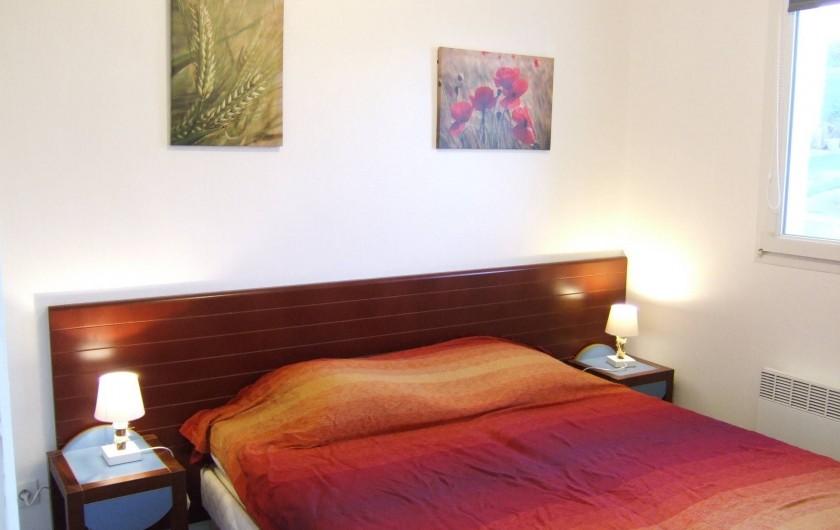 Location de vacances - Appartement à Trévou-Tréguignec - La chambre
