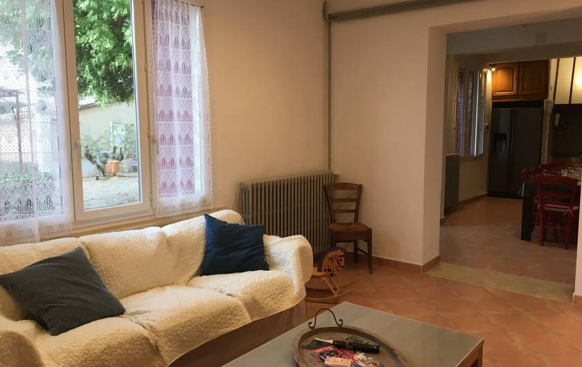 Location de vacances - Gîte à Carpentras - Salon