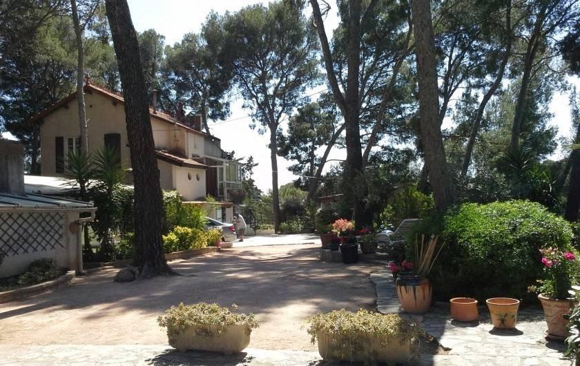 Location de vacances - Bungalow - Mobilhome à Saint-Cyr-sur-Mer - Studio