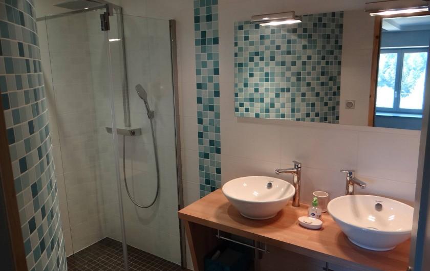Location de vacances - Gîte à Monistrol-sur-Loire - salle de douche 1