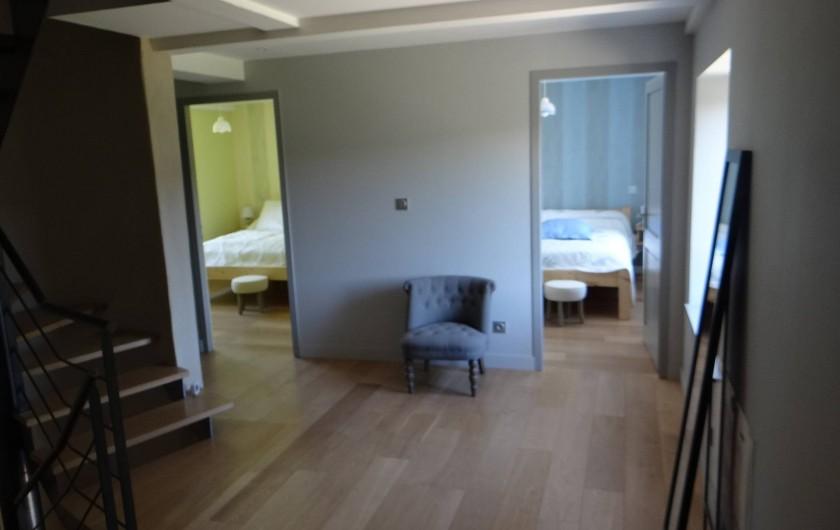Location de vacances - Gîte à Monistrol-sur-Loire - chambre 1 et 2