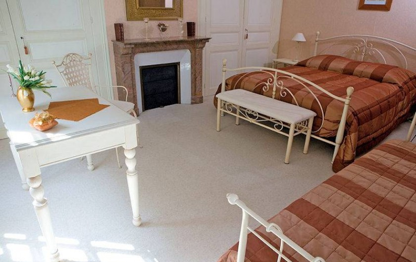 Location de vacances - Chambre d'hôtes à Juillé - chambre CANNELLE
