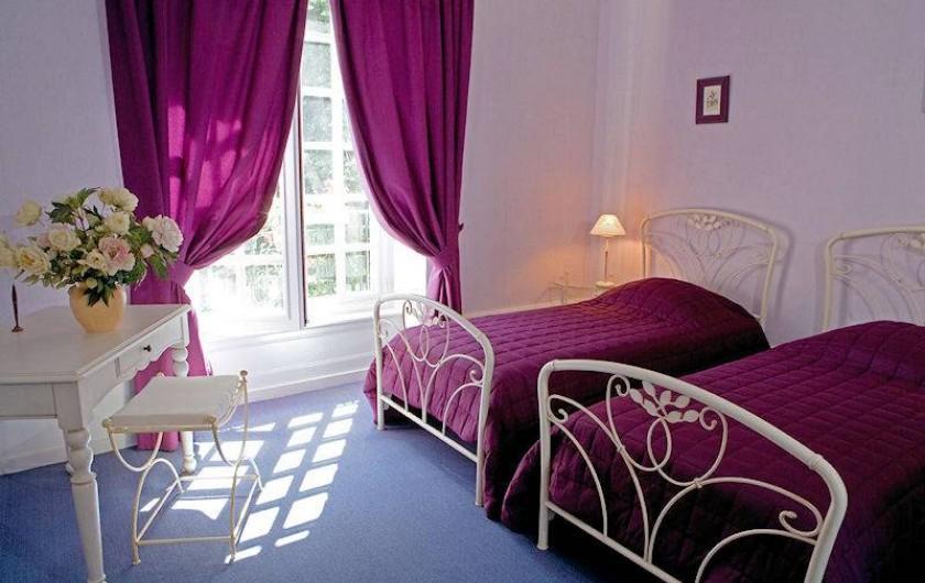 Location de vacances - Chambre d'hôtes à Juillé - Chambre AMETHYSTE