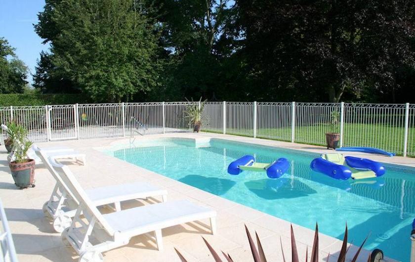 Location de vacances - Chambre d'hôtes à Juillé - piscine