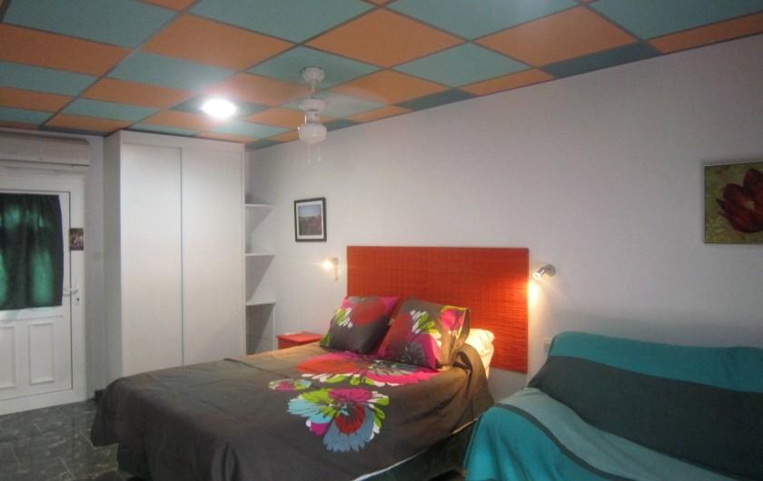 Location de vacances - Gîte à Vélez-Málaga - EXEMPLE DE CHAMBRE 1 LIT DOUBLE