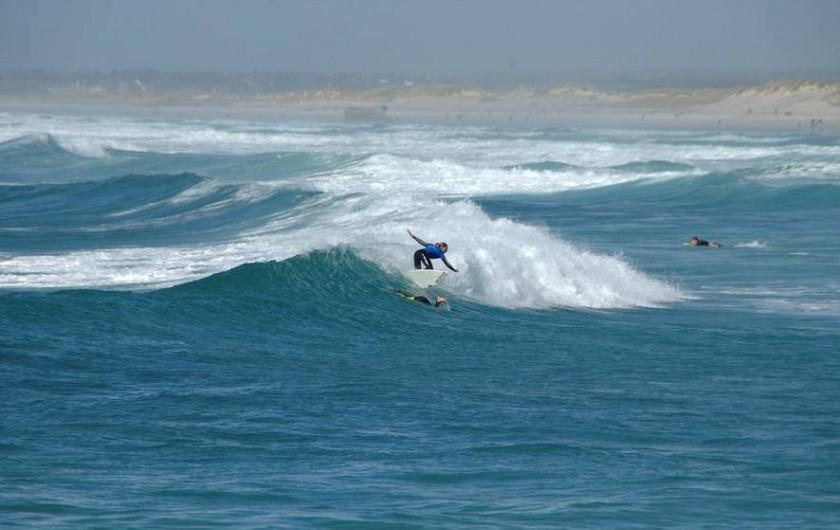 Location de vacances - Gîte à Saint-Jean-Trolimon - La Torche (4 km), Championnat de surf 2015