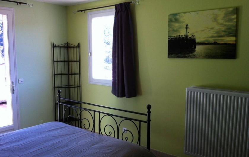 Location de vacances - Maison - Villa à Allemagne-en-Provence - chambre à coucher