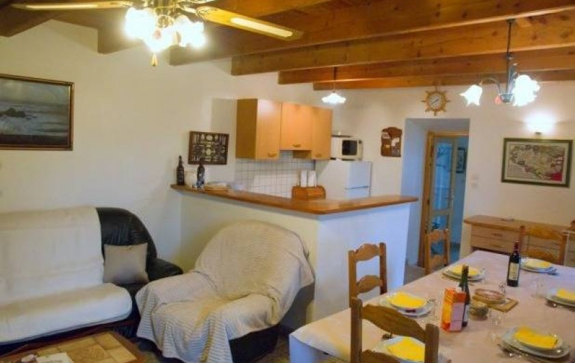 Location de vacances - Maison - Villa à Plouider - piece de vie