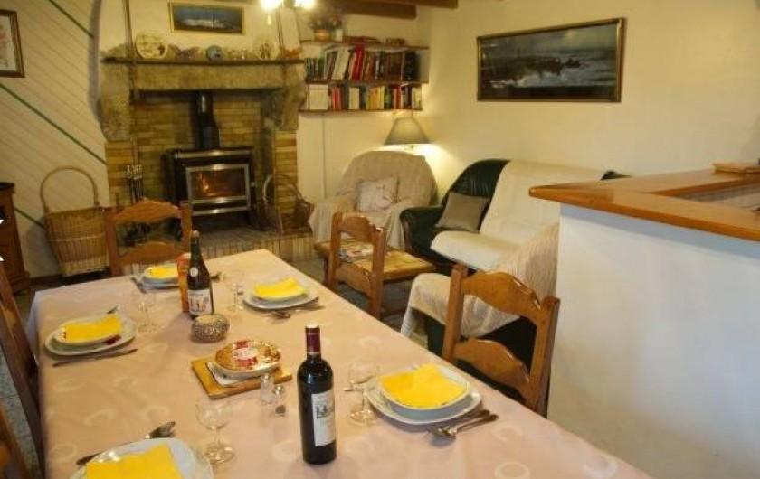 Location de vacances - Maison - Villa à Plouider - salle à manger
