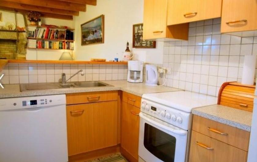 Location de vacances - Maison - Villa à Plouider - cuisine amenagée et equipée