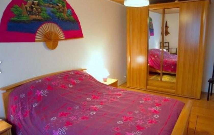 Location de vacances - Maison - Villa à Plouider - chambre  1      lit 140x190