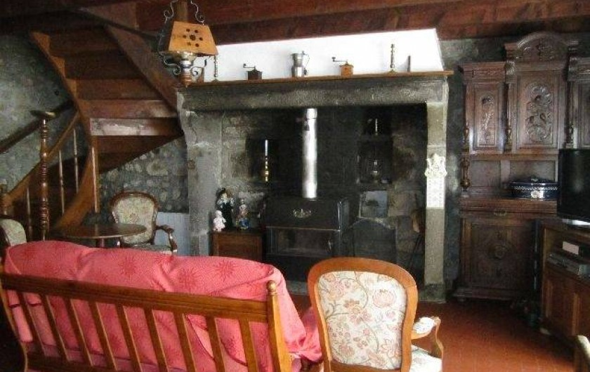 Location de vacances - Maison - Villa à Saint-Bonnet-prés-Orcival - sejour
