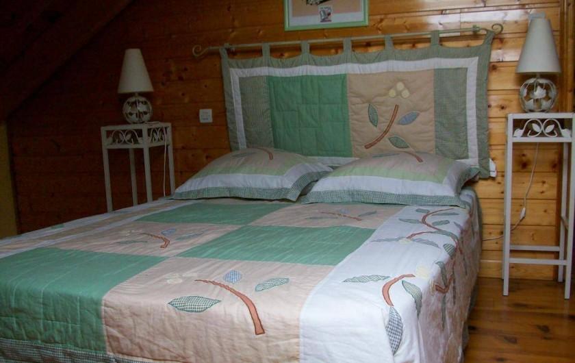 Location de vacances - Gîte à Formiguères - 1 ère Chambre