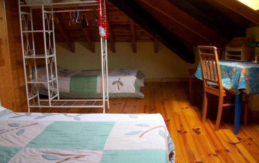 Location de vacances - Gîte à Formiguères - 2 ème Chambre