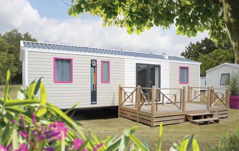 Location de vacances - Camping à La Tranche-sur-Mer - Mobil home 4 Chambres