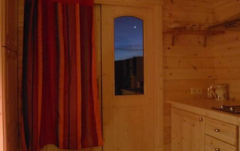 Location de vacances - Roulotte à Matour - La nuit