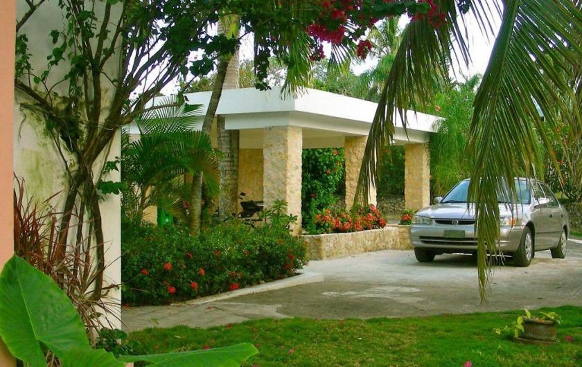 Location de vacances - Villa à Cabrera - Garage et terrasse sur le toit