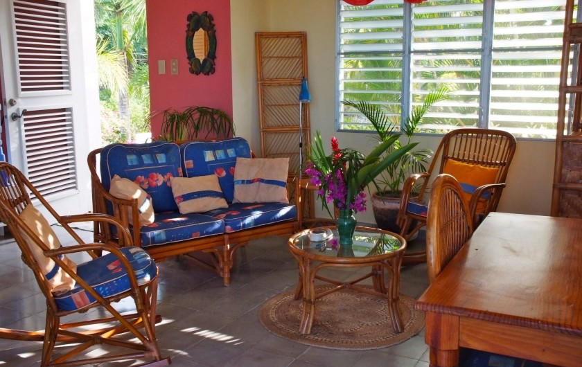 Location de vacances - Villa à Cabrera - Séjour du studio
