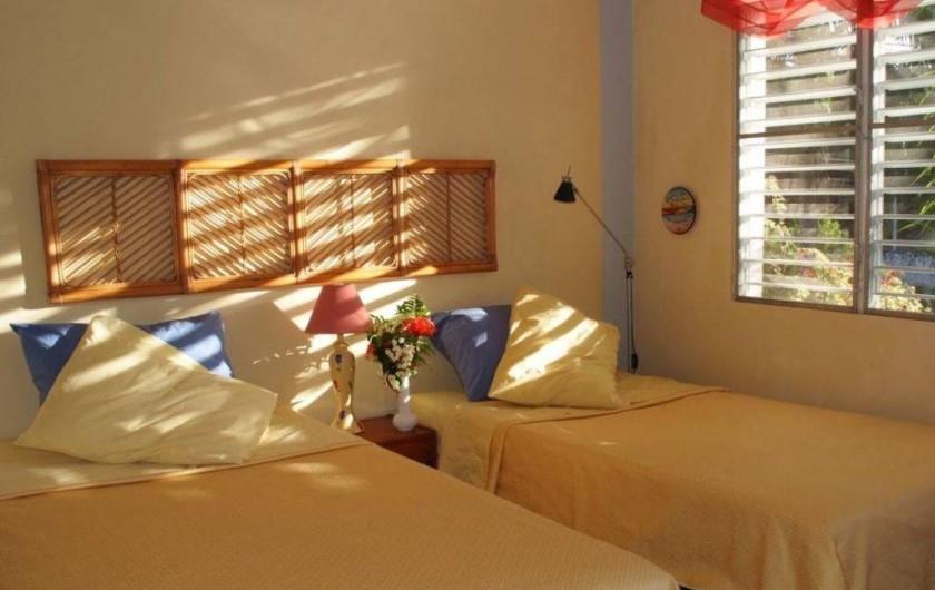 Location de vacances - Villa à Cabrera - Chambre no 3 avec 2 lits simples pouvant être convertis en grand lit