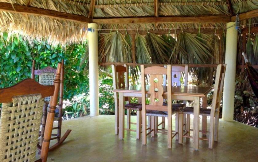 Location de vacances - Villa à Cabrera - Kiosque meublé de la villa avec meubles et hamac