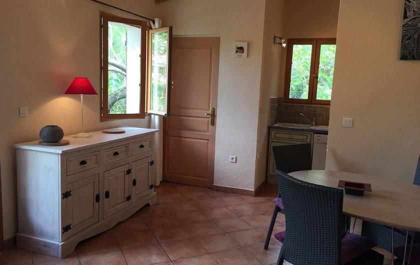 Location de vacances - Villa à Calvi - COIN REPAS