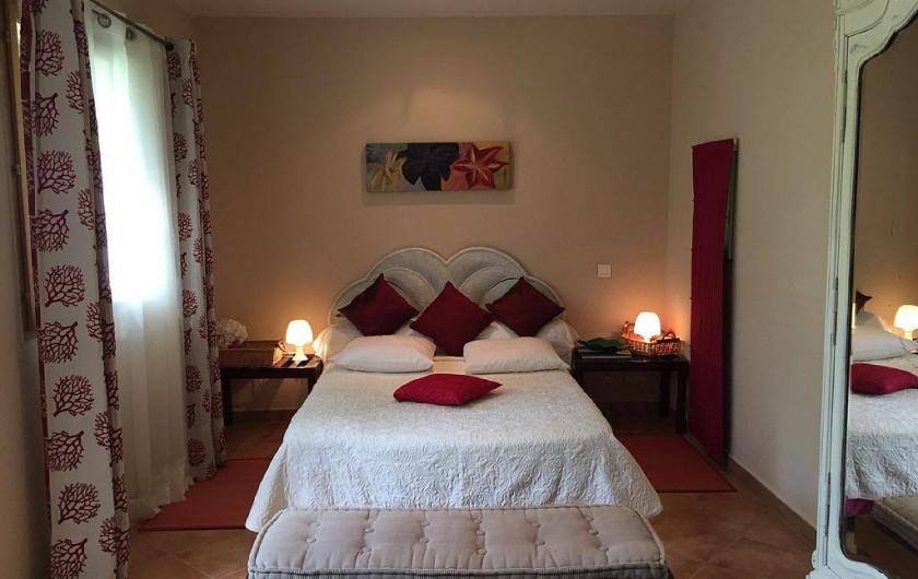 Location de vacances - Villa à Calvi - Chambres lit en 140