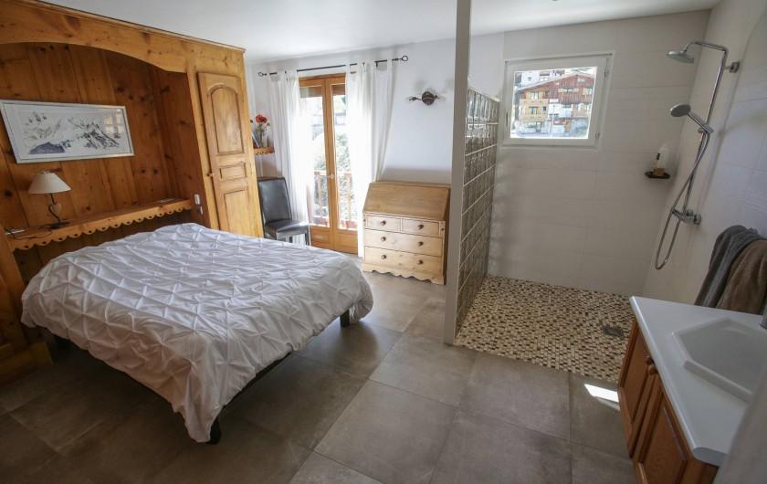 Location de vacances - Chalet à Tignes - Chambre 1 Rez de chaussée