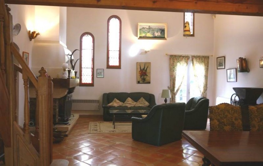 Location de vacances - Villa à Le Plan-de-la-Tour - salon salle à manger