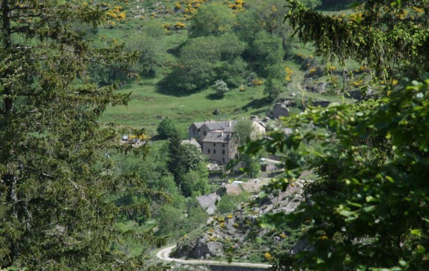 Location de vacances - Chambre d'hôtes à Meyrueis - Hameau des Oubrets