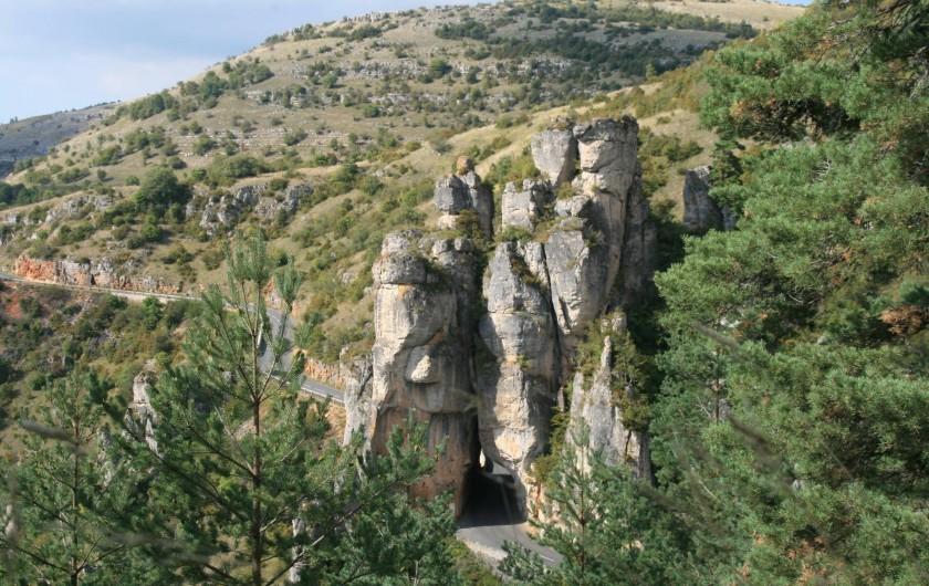 Location de vacances - Chambre d'hôtes à Meyrueis - Chaos  géologique
