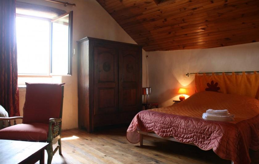Location de vacances - Chambre d'hôtes à Meyrueis - Chambre Emotion