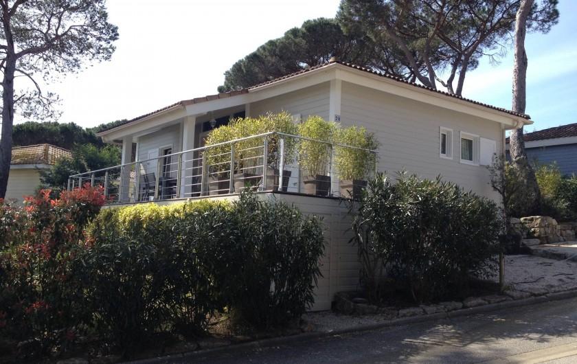 Location de vacances - Maison - Villa à Gassin - Côté