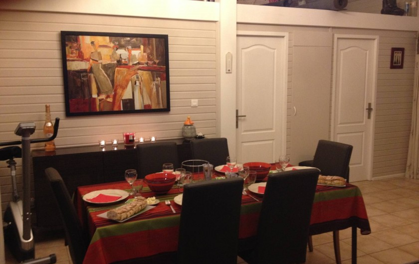 Location de vacances - Maison - Villa à Gassin - Salle à manger