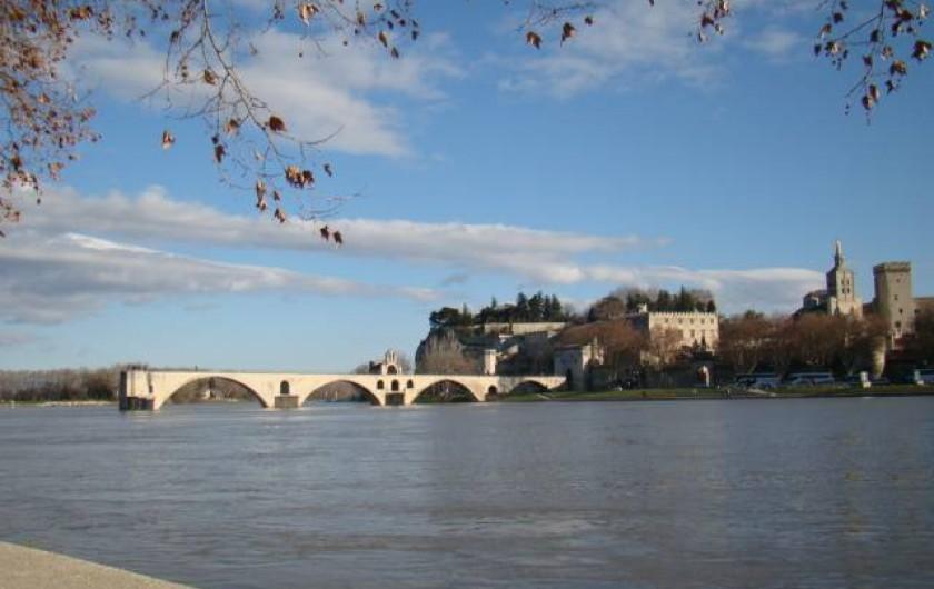 Location de vacances - Mas à Aureille - pont d'Avignon