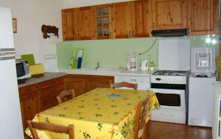 Location de vacances - Mas à Aureille - cuisine