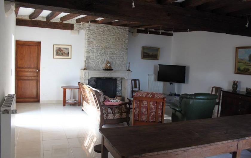 Location de vacances - Gîte à Courcelles-lès-Montbard - Salle à manger