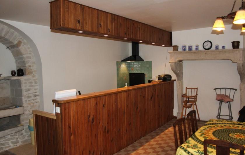 Location de vacances - Gîte à Courcelles-lès-Montbard - Cuisine