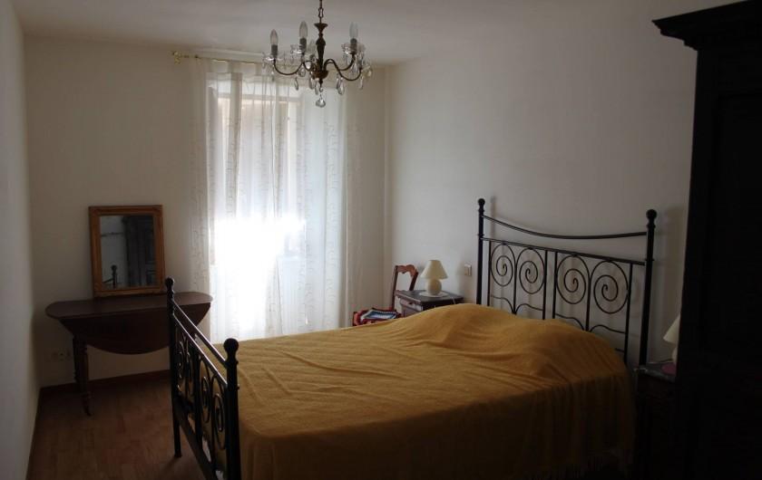 Location de vacances - Gîte à Courcelles-lès-Montbard - Chambre 1