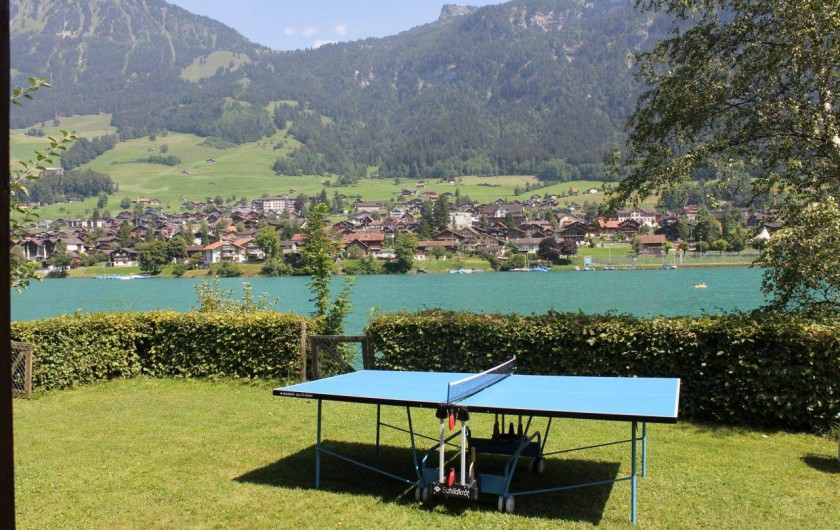 Location de vacances - Villa à Lungern - Jardin