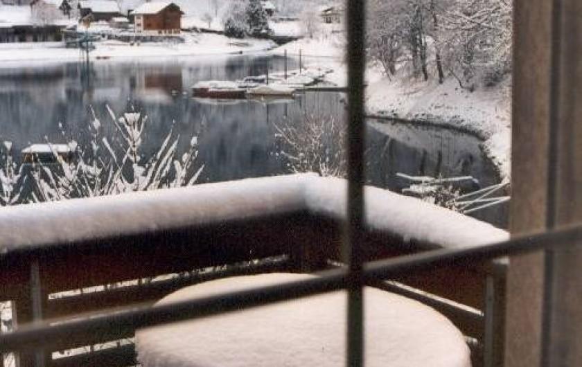 Location de vacances - Villa à Lungern - Neige en hiver