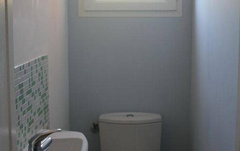 Location de vacances - Appartement à Porticcio - wc séparé