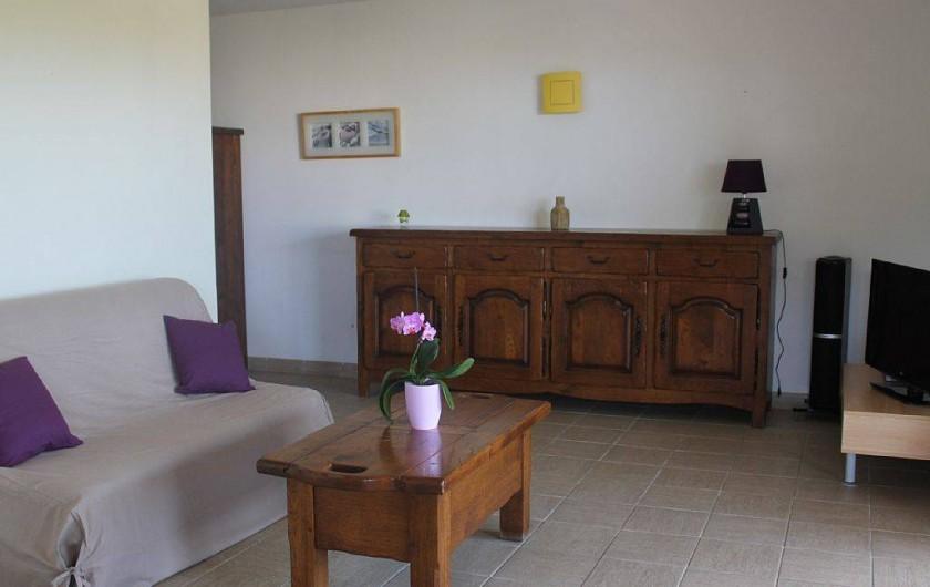 Location de vacances - Appartement à Porticcio - 1 canapé lit BZ de 160