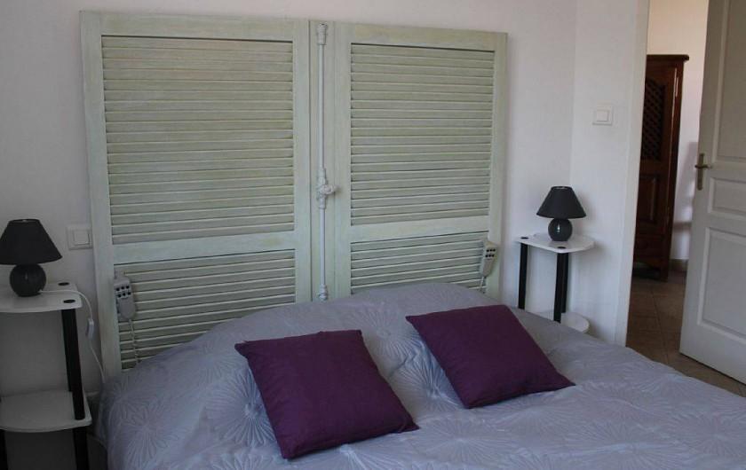Location de vacances - Appartement à Porticcio - chambre. 1 grand lit