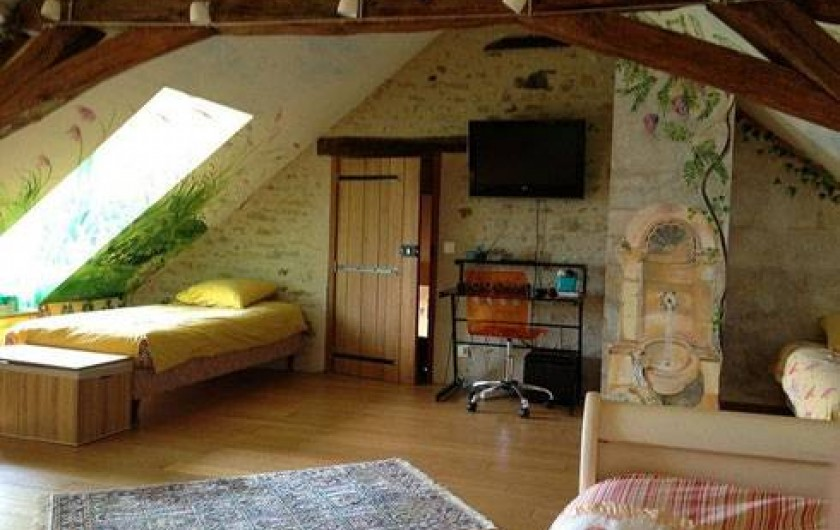 Location de vacances - Gîte à Auxerre - CHAMBRE DORTOIR